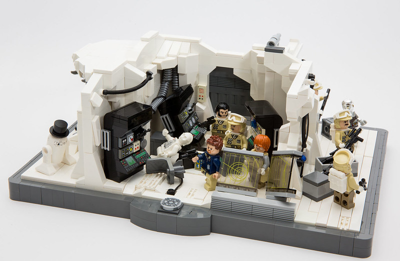 Scenes from Hoth, by LegoFjotten, on Eurobricks
