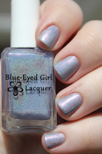 Blue Eyed Girl Lacquer Love Makes You Do The Wacky