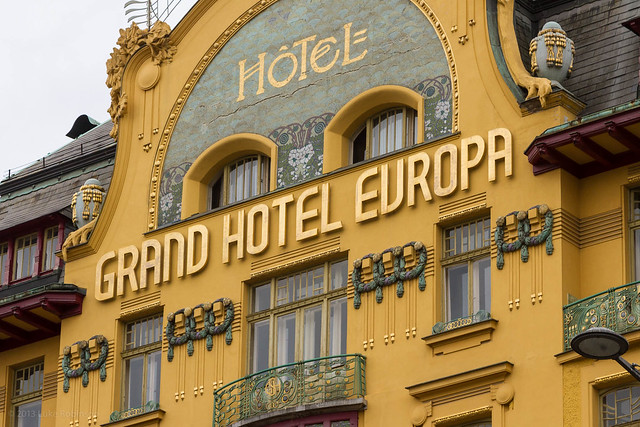 Grand Hotel Europa, Wenceslas Square