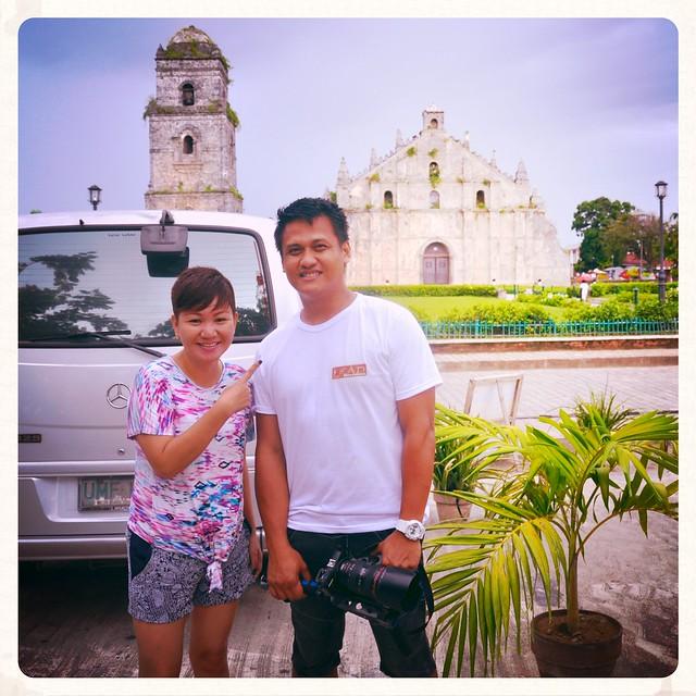 Snapshot with Rommel Diaz