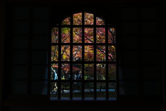 圓光寺 Enkoji Air Stained glass
