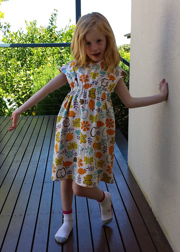 Oliver + S Roller-skate Dress, size 6 for Stella