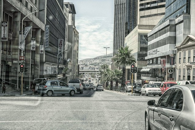 drive-by photography in Cape Town streets