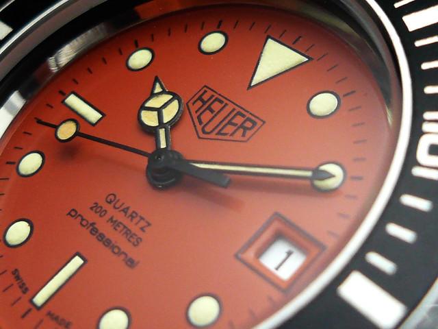 Heuer Orange Diver 980.016