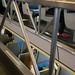 Interior of double decker train