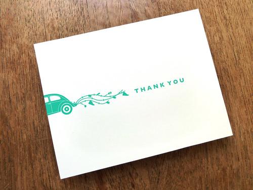 Love Bug Thank You Card