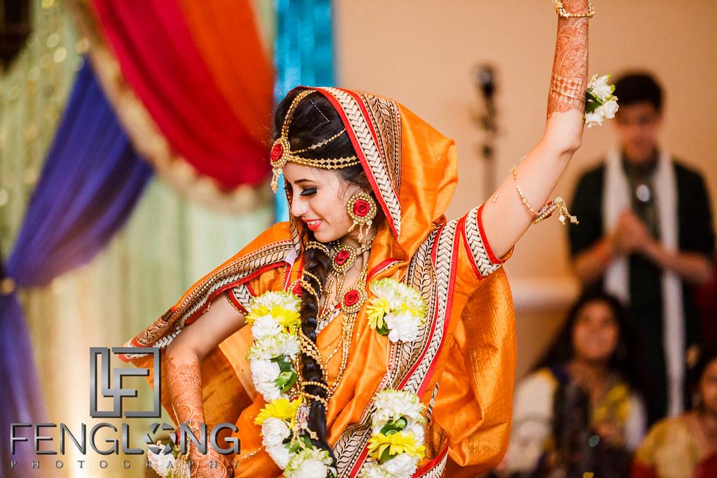 Bride's performance with groom on dance floor