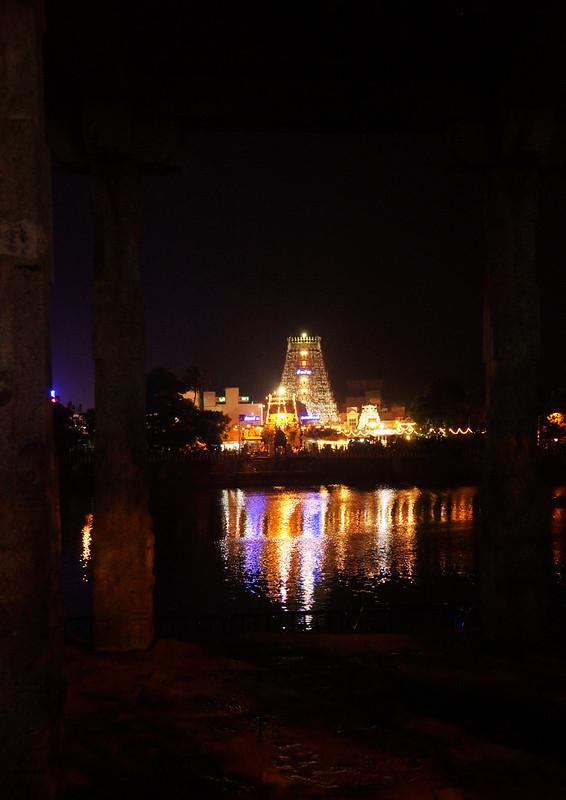 Kapaleeshwarar Temple at Night