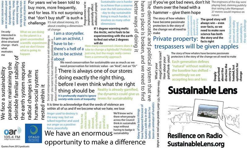 Sustainable Lens - quotes
