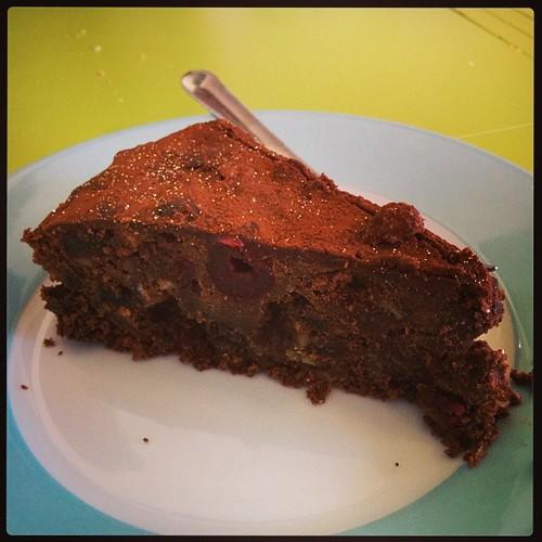 Rich chocolate fruit cake #omnomnom by South Downs MTB Skills