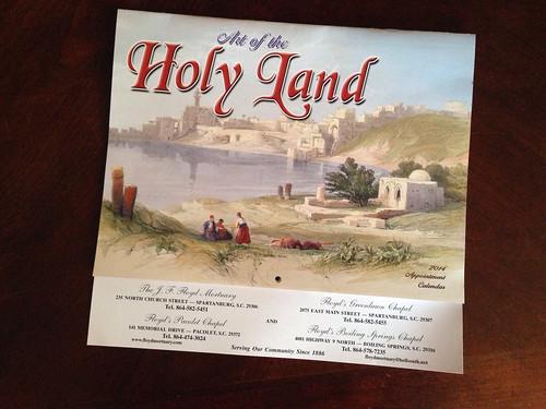 Holy Land Calendar