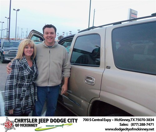 Happy Anniversary to Kari R Choquette on your 2005 #Chevrolet #Tahoe from Nichole Betts  and everyone at Dodge City of McKinney! #Anniversary by Dodge City McKinney Texas