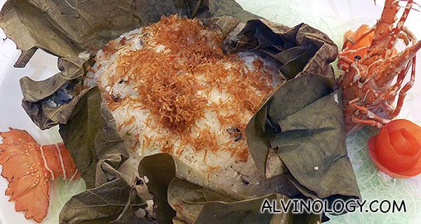 Prosperous Eight Treasures Lotus Leaf Rice (Presented by Brizo Restaurant & Bar, Park Hotel Clark Quay)