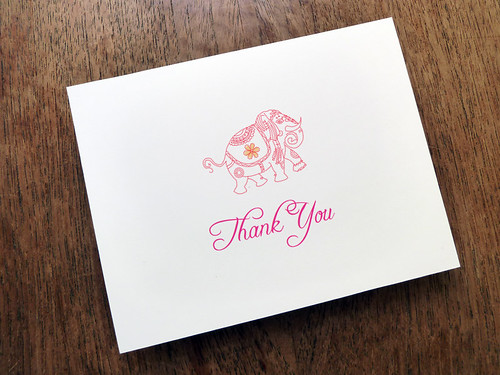 India Thank You Card Download