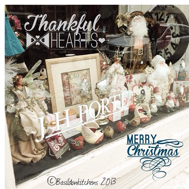Dec 14 - in the shop window {pretty window display in downtown Picton} #photoaday #picton #window #jhporte #christmas #winter #smalltown #rhonnadesigns