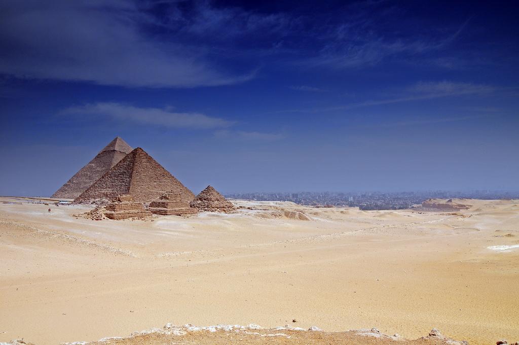 7. Pirámides de Giza. Autor, Salomon10