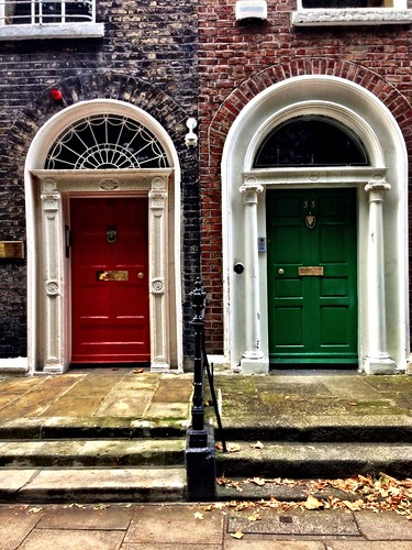 Dublin doors by SpatzMe
