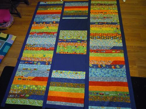 Oliver's quilt 2013