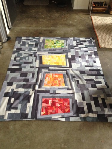 Alex\'s Quilt Top Finished
