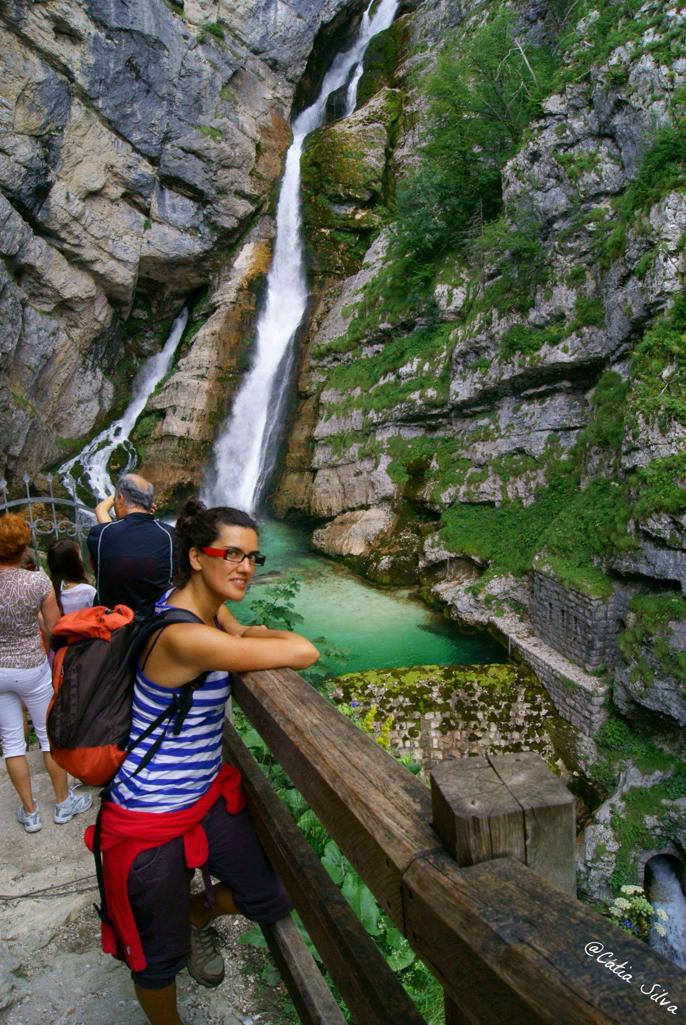 Slap Slavica - Lago Bohinj - Eslovenia (7)