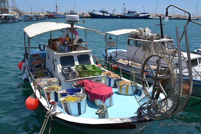 Boats and Yachts at Limassol New Marina