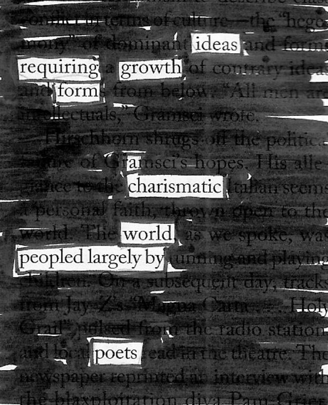 Peopled by poets