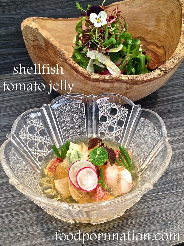 shellfish tomato jelly