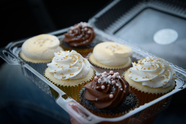 AMAZING cupcakes from Sugar Social - thanks Kristen!
