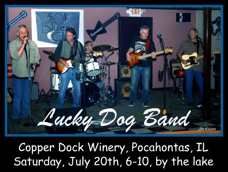 Lucky Dog Band 7-20-13