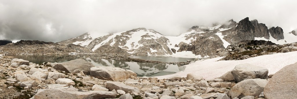 Isolation Lake Panorama