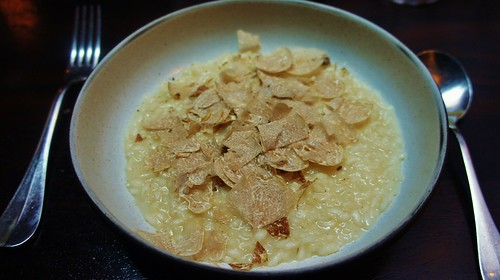 Risotto and White Truffles