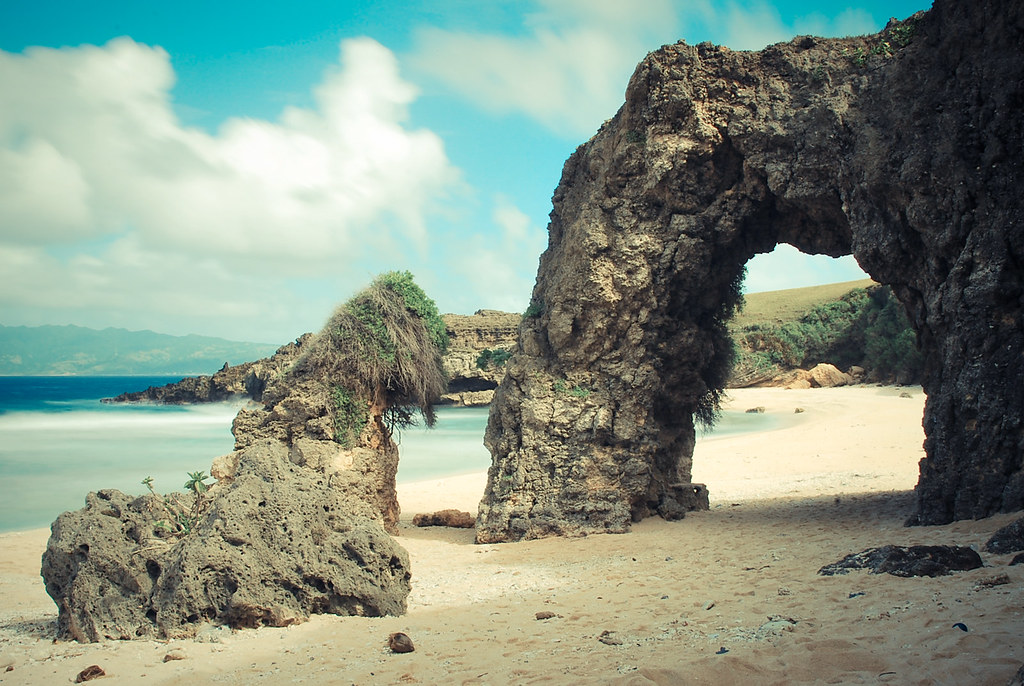 Stone Arch, Batanes, Nakabuang Beach