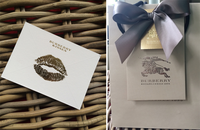 Burberry packaging