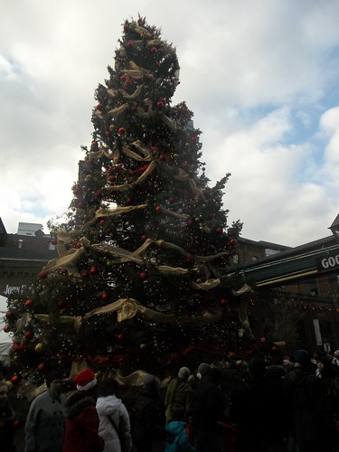 Christmas tree in the Distillery District (1)