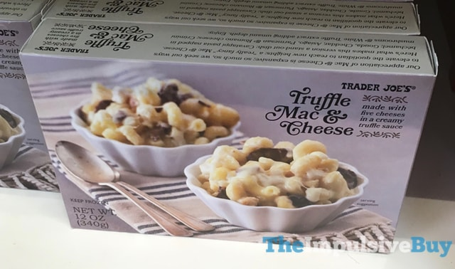 Trader Joe's Truffle Mac & Cheese