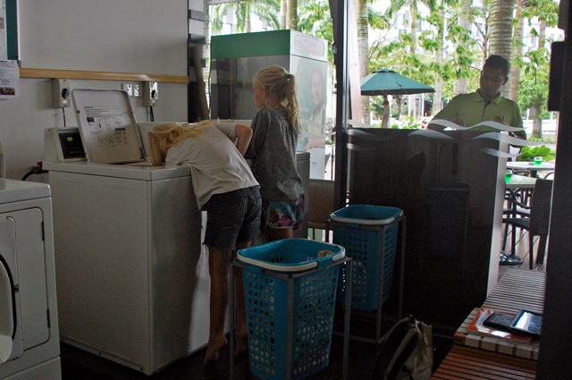 Access to laundry machines
