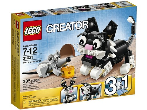 31021 Furry Creatures