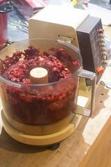 Food Processor - Beet Mixture