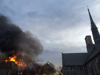 Fire at Sherman Ave, Glens Falls, NY