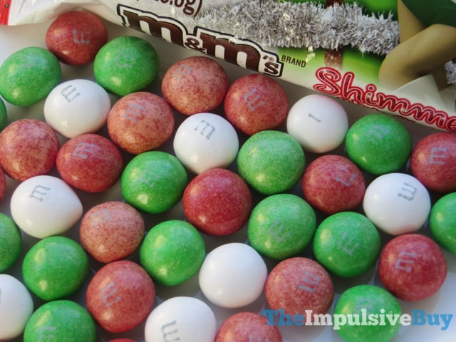 Shimmery White Chocolate M&M's 2