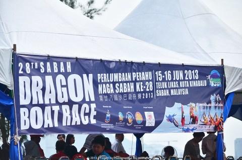 Pertandingan Perahu Naga, Teluk Likas