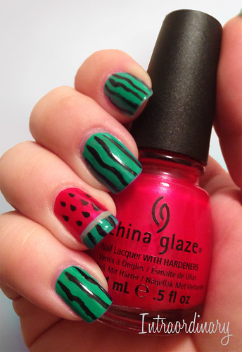 Watermelon Nails by intraordinary