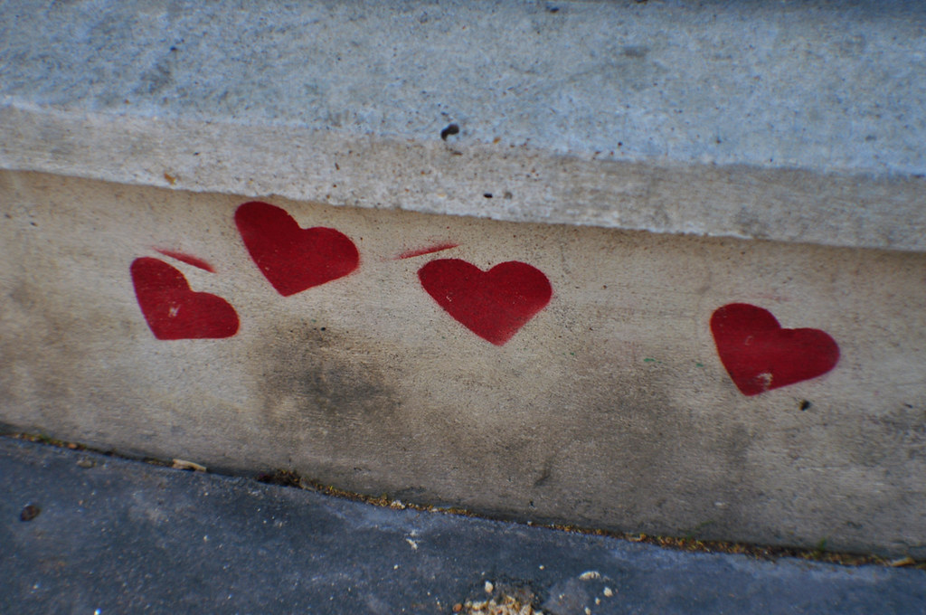 Pochoir Coeur 1