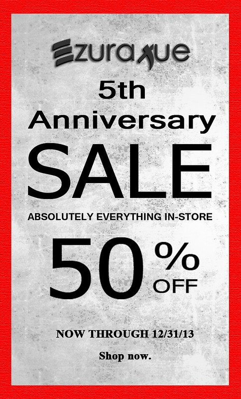 ezura Xue + 5th Anniversary Sale