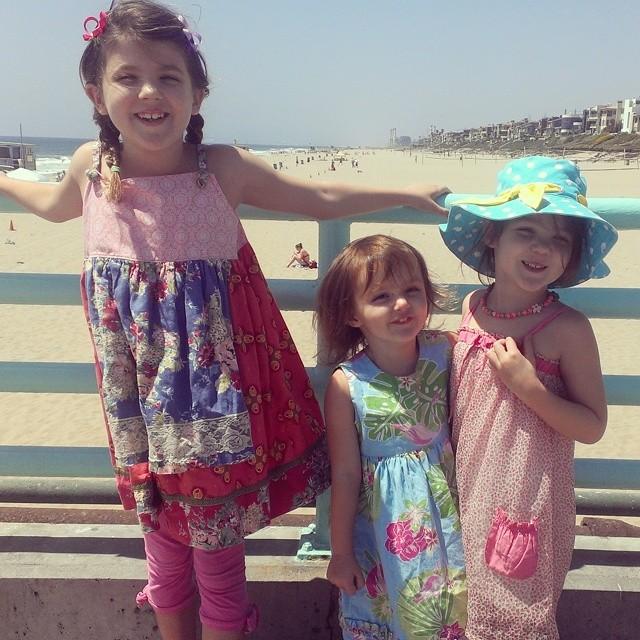 Perfect beach day! #californiakids #homeschool