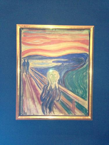 The Scream, Edvard Munch. Munch Museum, Oslo. Noruega