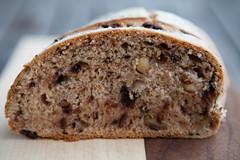 Schoggi-Walnuss Brot