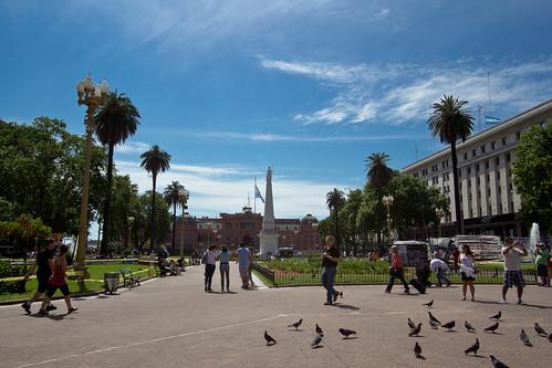 Plaza de Mayo y Casa Rosada