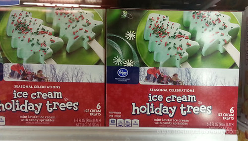 Kroger Seasonal Celebrations Ice Cream Holiday Trees