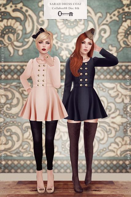 Sarah Dress Coat